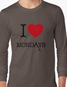 I Love Mondays- Castle Long Sleeve T-Shirt