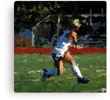 100511-085- 0 p & ink-field hockey Canvas Print