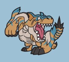 Cartoon Tigrex by SkinnyJoe