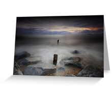Rising Tide - Youghal Co. Cork Greeting Card