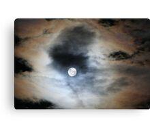 Capital Lunar Eclipse 2 Canvas Print