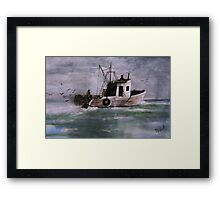 A Good Day Framed Print
