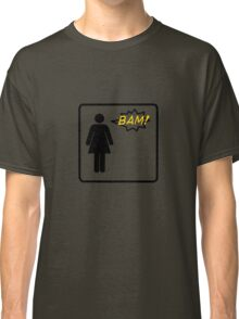 Bam! Said The Lady- Black Classic T-Shirt