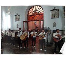 Mariachis in honour of the Virgin - Mariachis honorando la Virgencita Poster