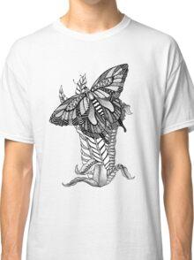 Zentangle Swallowtail Butterfly Classic T-Shirt