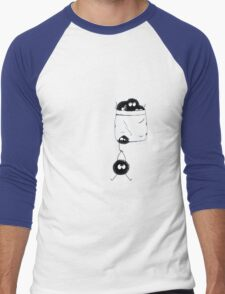 Pocket dust Men's Baseball ¾ T-Shirt