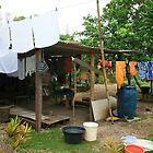Local village, Port Vila, Vanuatu by Justine Chesterman