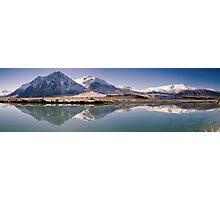 Ahuriri Valley Panoramic Photographic Print