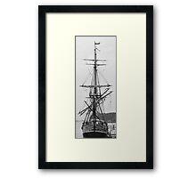 Tall Ship. Framed Print