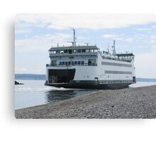 Washington State Ferry Salish  Canvas Print