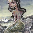 moleskine mermaid  by Michael Scholl