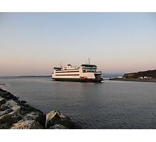 Washington State Ferry Salish arriving Keystone Photographic Print