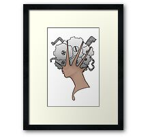GearHead Framed Print