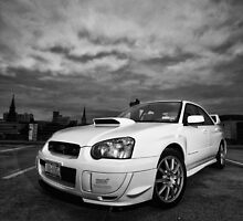 STI black and white by GPMPhotography