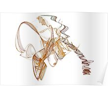Fractal Swirls Poster