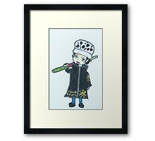 Chibi Law Framed Print