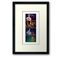 Off To See The Wizard-Four Friends Framed Print