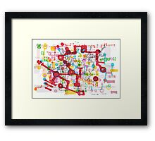 Learning Circuit Framed Print