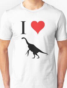 I Love Dinosaurs - Therizinosaurus T-Shirt