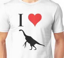 I Love Dinosaurs - Therizinosaurus Unisex T-Shirt