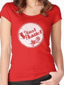 Vinyl Addict Women's Fitted Scoop T-Shirt