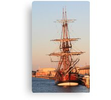 Barquentine Endeavour replica Canvas Print