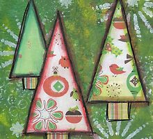 Christmas Trees by Janine Whitling