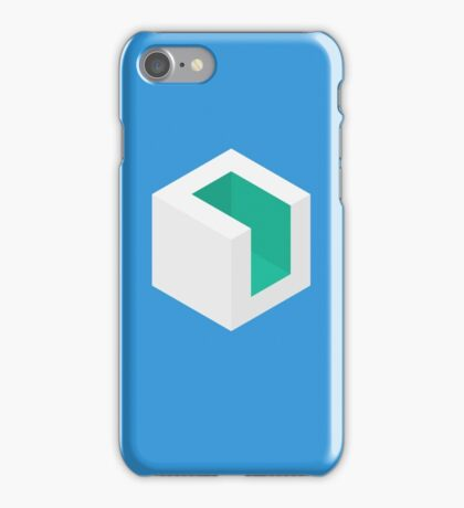 isometric cube design iPhone Case/Skin