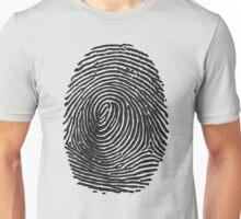 Fingerprint #2 (Dark) Unisex T-Shirt