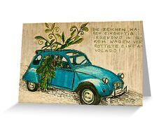 My old car ! Greeting Card