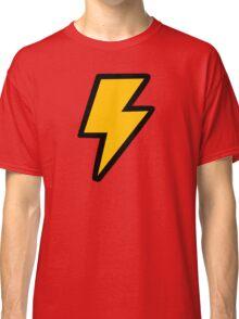 Cartoon Lightning Bolt pattern Classic T-Shirt