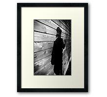 Alex Chance - Shadow Framed Print