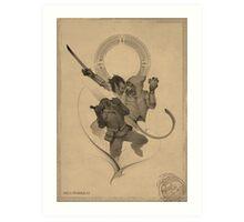 Akrash Art Print