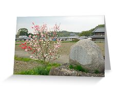 Flower and Monument Greeting Card
