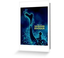 THE GOOD DINOSAUR 01 Greeting Card