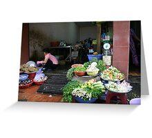 """Vietnamese Kitchen"", Ho Chi Minh City Greeting Card"