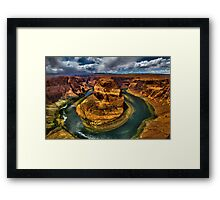 Horseshoe Bend , Arizona Framed Print