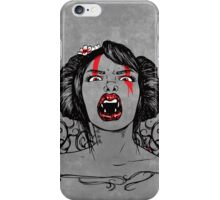 Bloodthirsty iPhone Case/Skin