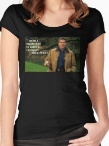 Rick Perry Funny 1 Women's Fitted Scoop T-Shirt