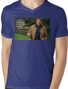 Rick Perry Funny 1 Mens V-Neck T-Shirt