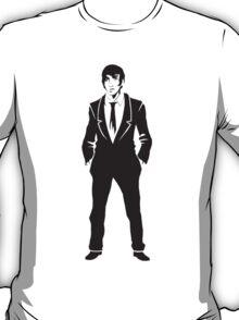 SebastiAn - Total (Original Artwork 3) (Black) T-Shirt