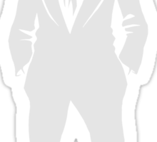 "SebastiAn - Total (Original Artwork 3) (""White"") Sticker"