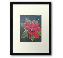 Xmas Flower 2011 Framed Print