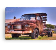 Bedford decay Canvas Print