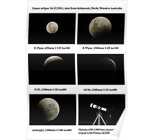 luna eclipse 10-12-2011 Poster