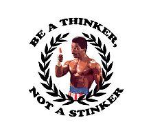 APOLLO CREED ROCKY BALBOA - Be a Thinker, not a Stinker by srvsl