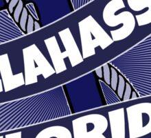 Tallahassee Florida anchor swirl Sticker