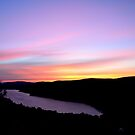 Sunrise at Lake of the Clouds  by Debbie  Maglothin