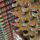 Painted Roof Brackets, Beomeosa Temple by Jane McDougall