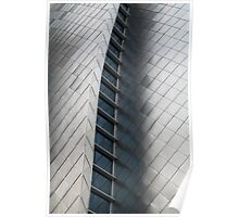 Silver Fish Scale Wall Poster